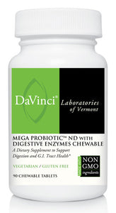 Davinci Mega Probiotic ND With Digestive Enzymes Chewable