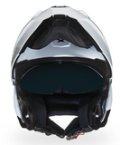 Casque Nexx Xvilitur blanc modulable de face
