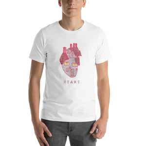 HEART House – Short-Sleeve Unisex T-Shirt