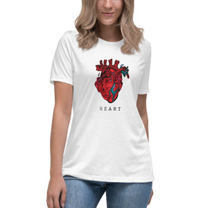 HEART Anatomic – Women's Relaxed T-Shirt