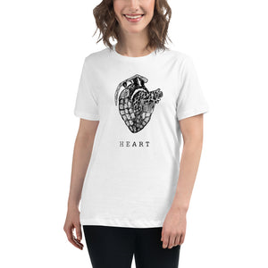 HEART Grenade – Women's Relaxed T-Shirt