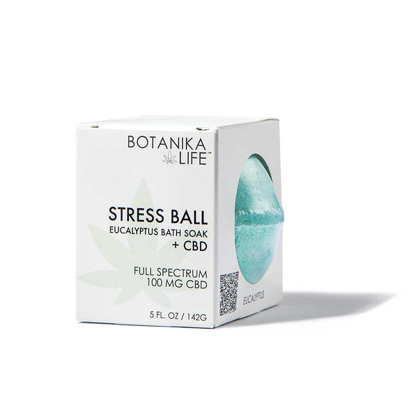 Stress Ball - Eucalyptus Bath Soak with 100MG CBD