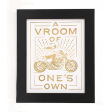"Load image into Gallery viewer, ""A VROOM OF ONE'S OWN"" PRINT"