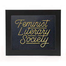 "Load image into Gallery viewer, ""FEMINIST LITERARY SOCIETY"" PRINT"