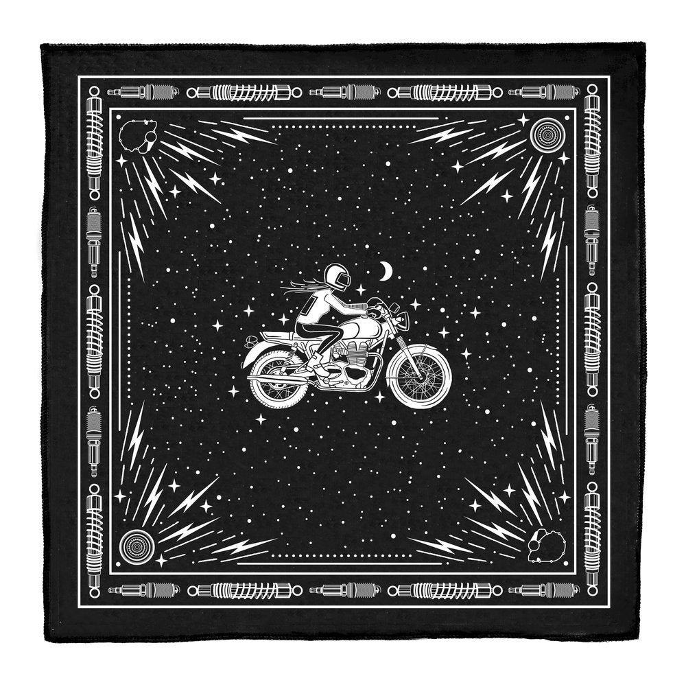 MOTORCYCLE BANDANA/NECKERCHIEF