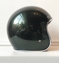 "Load image into Gallery viewer, ""TROUBLE MAKER"" *LARGE* HAND-PAINTED BILTWELL BONANZA SIERRA GREEN HELMET"