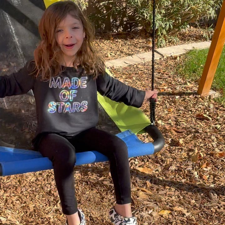 This swing was all Ava...