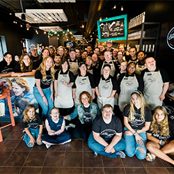 Image of the Bitty and Beau's Coffee staff