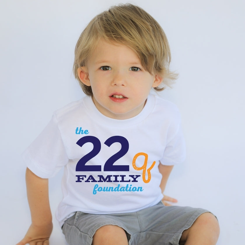 The 22q Family Foundation's Merchandise Store on Outshine Labels