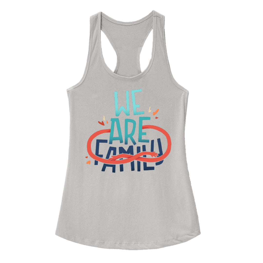 We Are Family - 22q Family Foundation - Racerback Tank