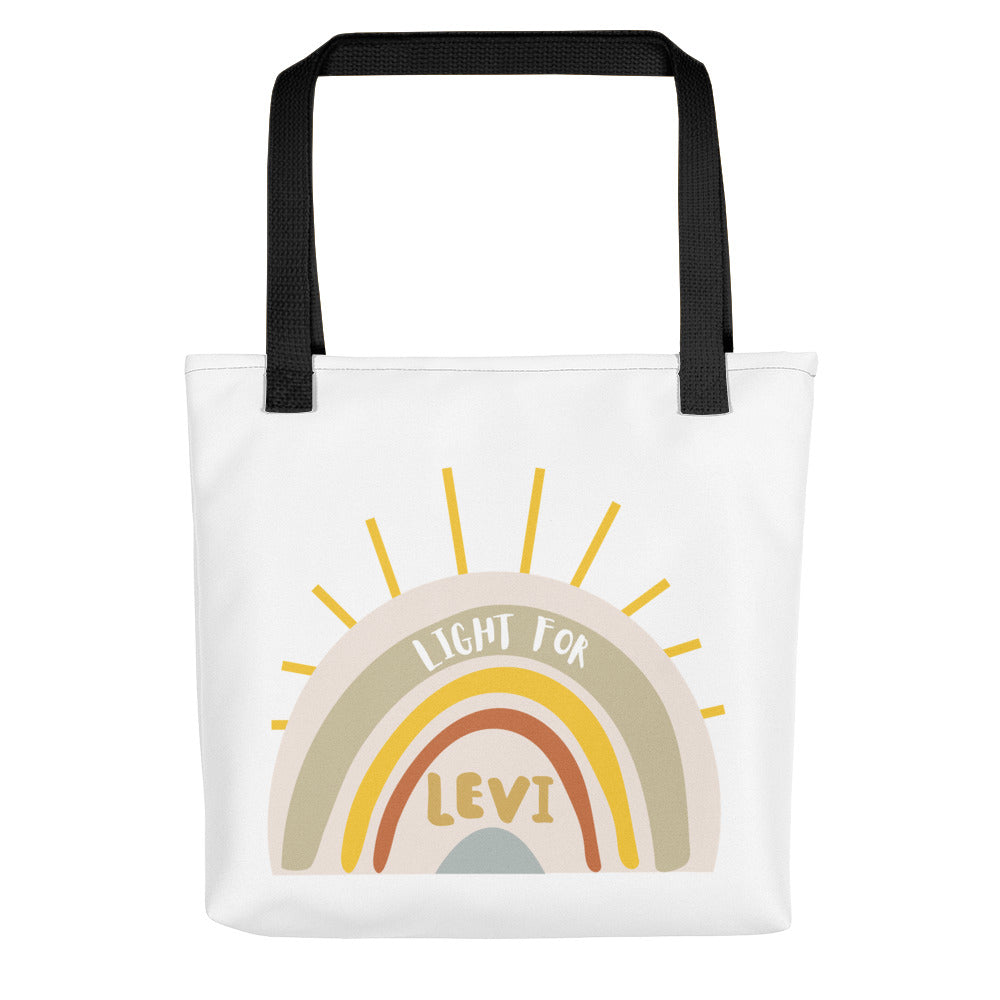 Light For Levi — Rainbow Tote