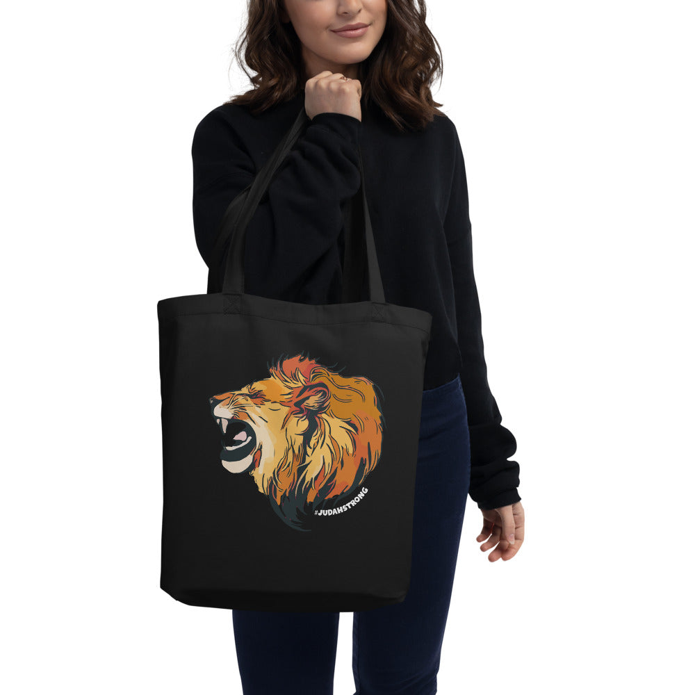 Judah Strong — Large Eco Tote Bag