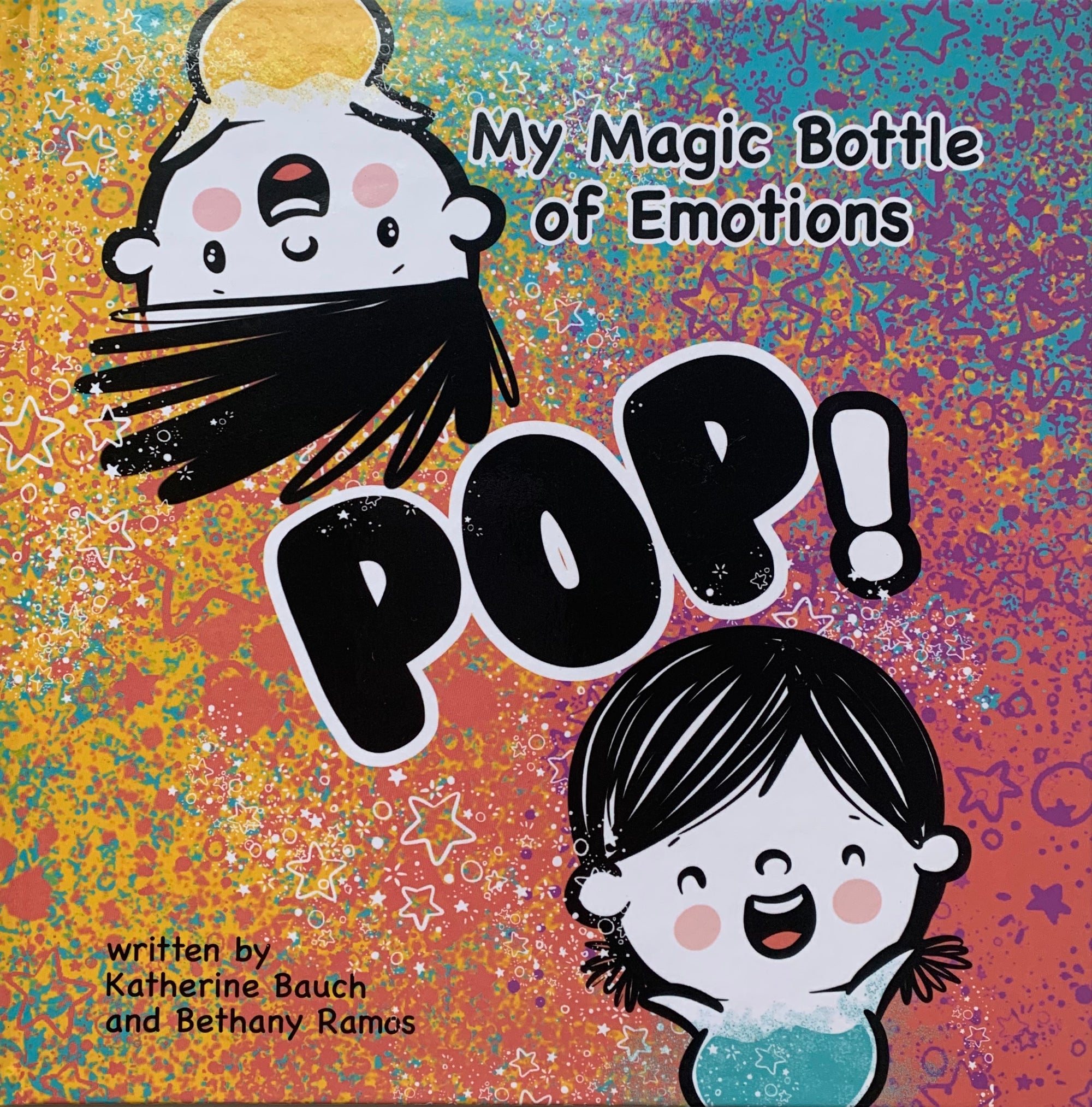 My Magic Bottle of Emotions — Autographed Hardcover Book