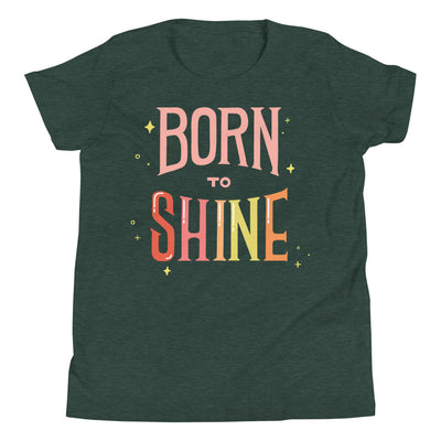 Born to Shine Youth Tee