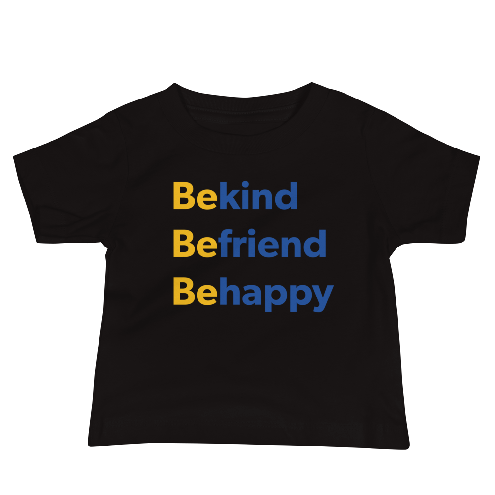 Be Happy — Baby Tee