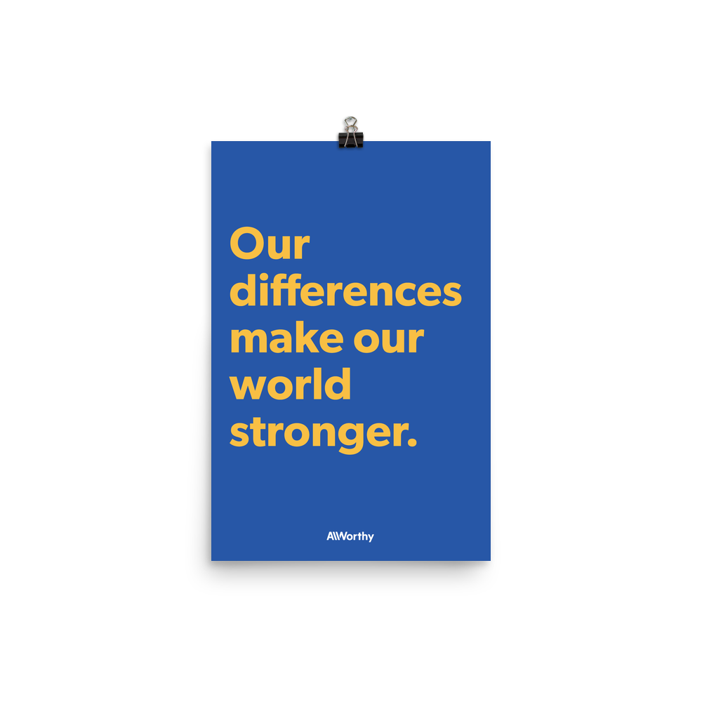 Our differences — Poster