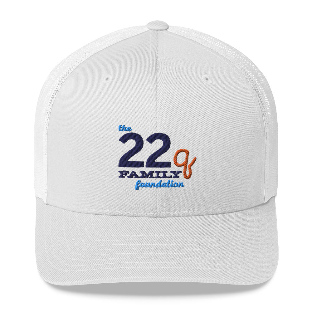 The 22q Family Foundation Logo – Trucker Hat