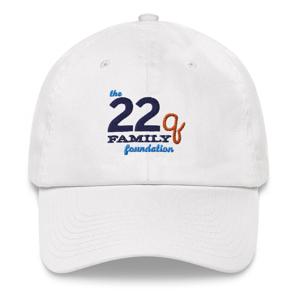 The 22q Family Foundation Logo – Classic Dad Hat