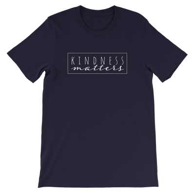 Kindness Matters — Adult Unisex Tee