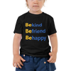 Be Happy — Toddler Tee