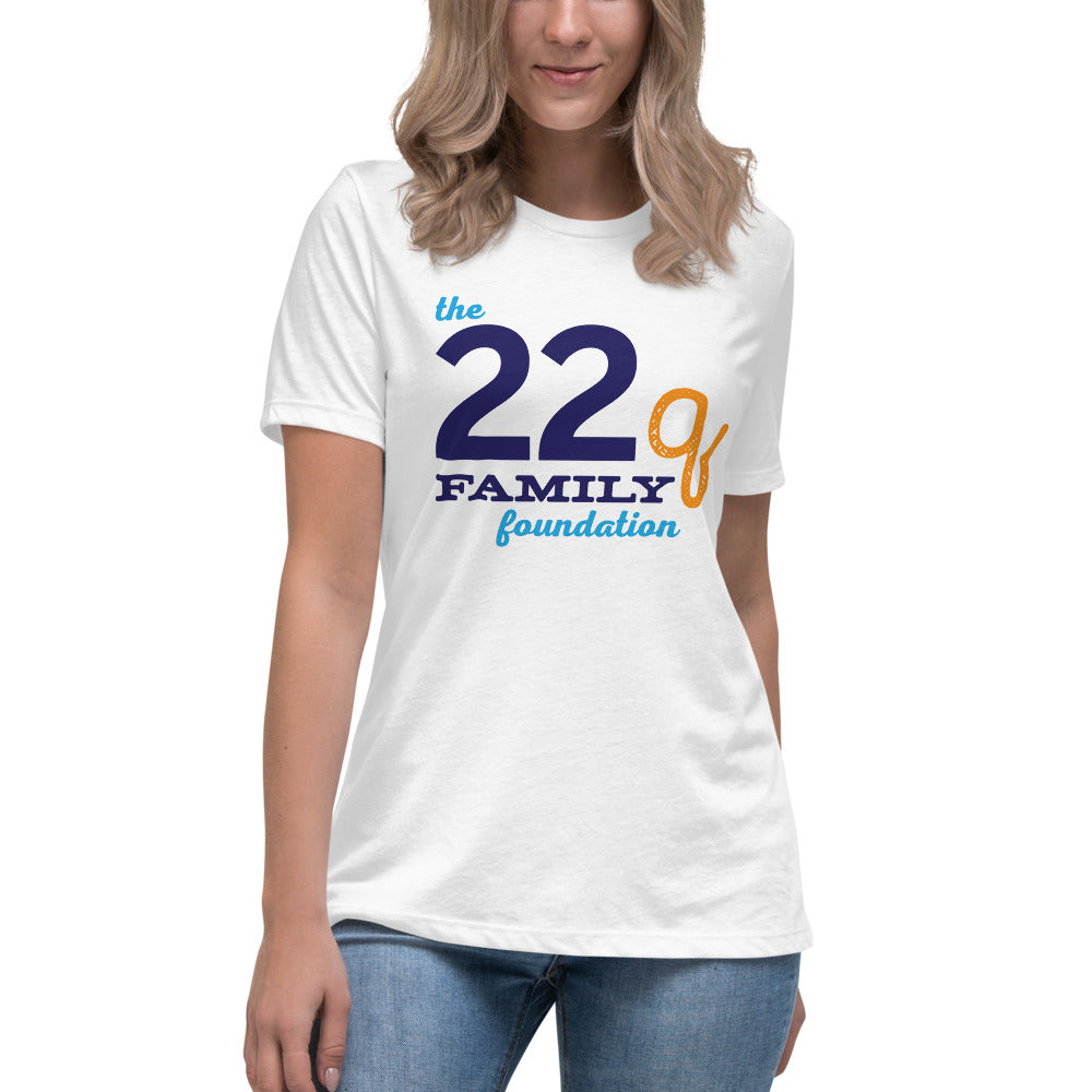 22q Family Foundation Women's Relaxed Logo Tee