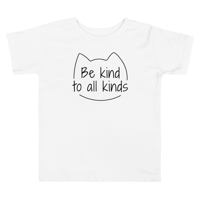Be Kind To All Kinds — Toddler Tee