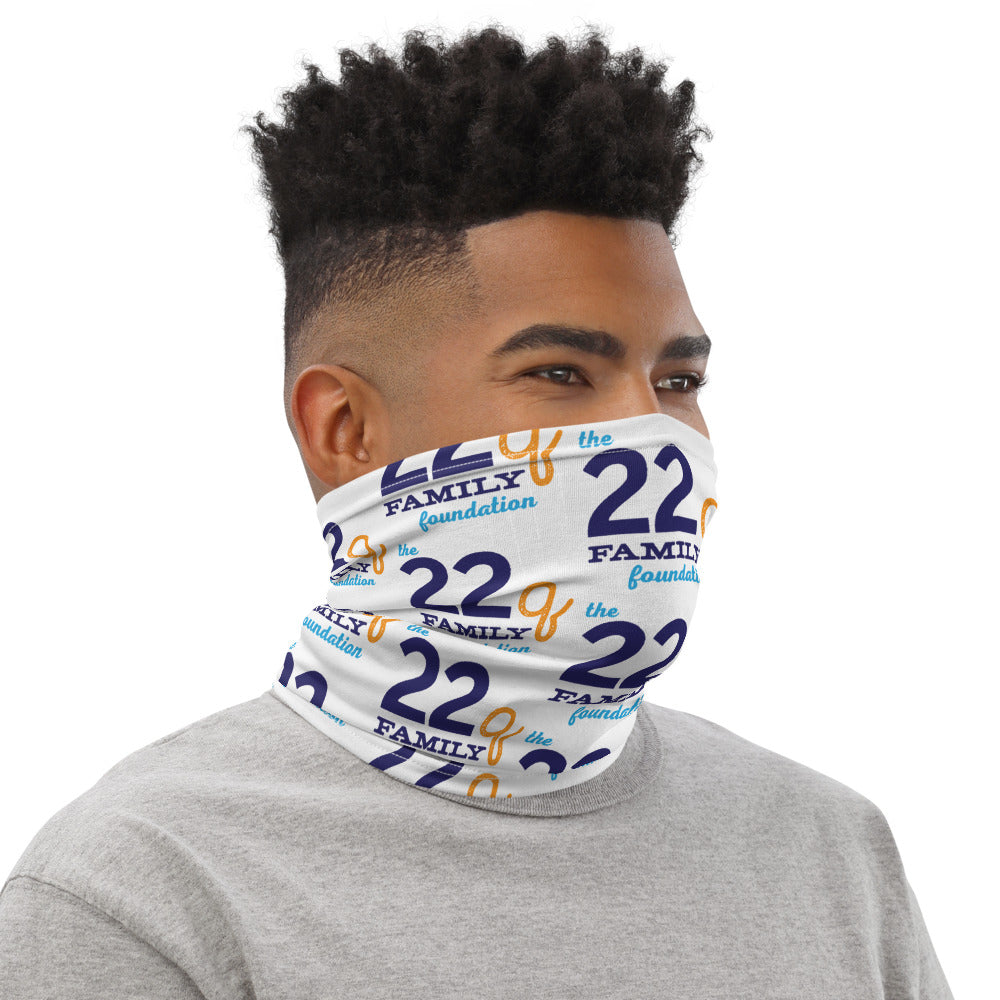 The 22q Family Foundation Logo Neck Gaiter