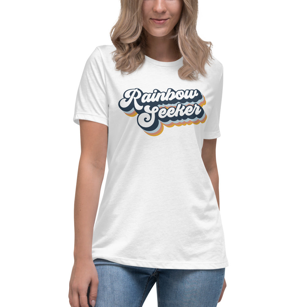 Rainbow Seeker — Women's Relaxed Tee
