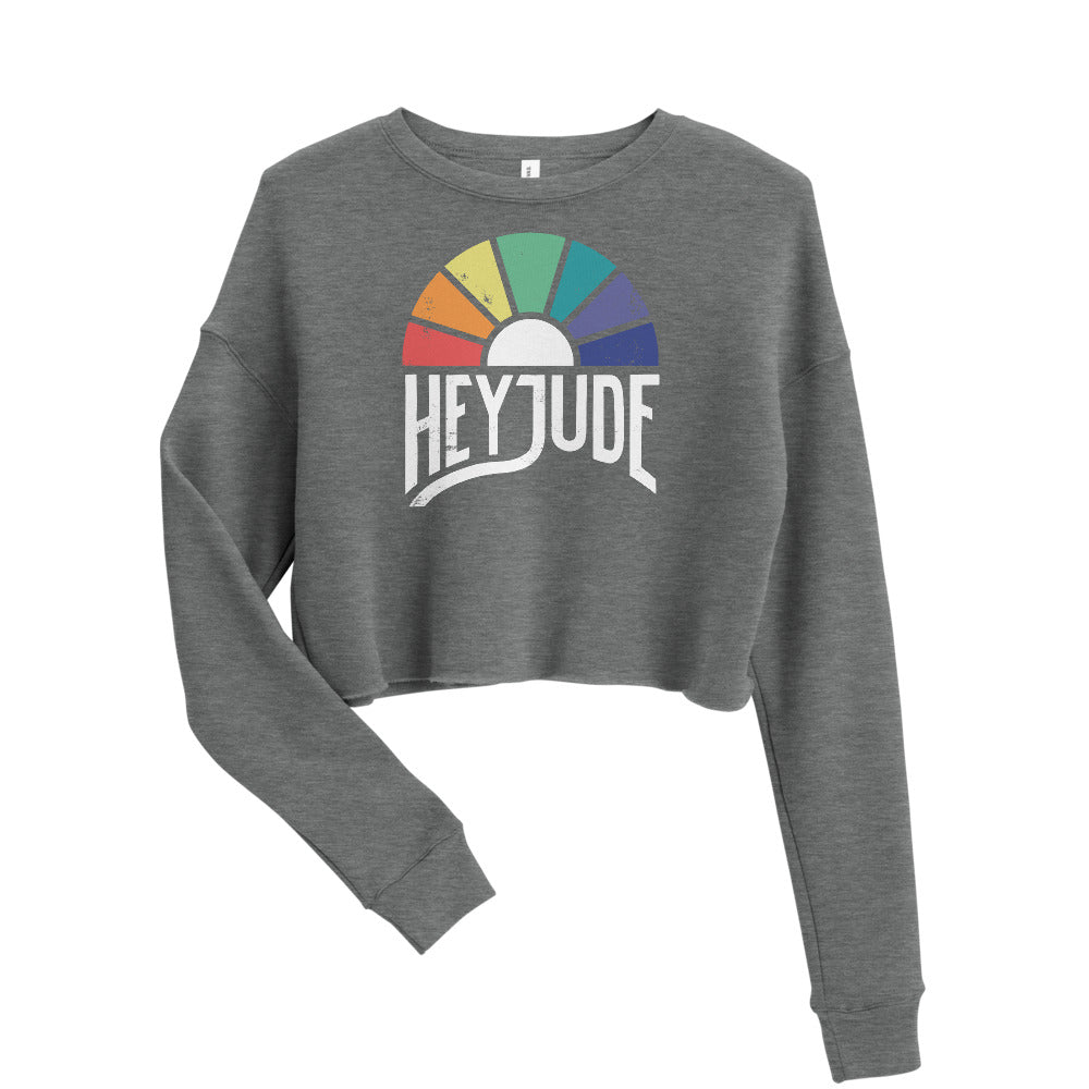 Hey Jude — Crop Sweatshirt
