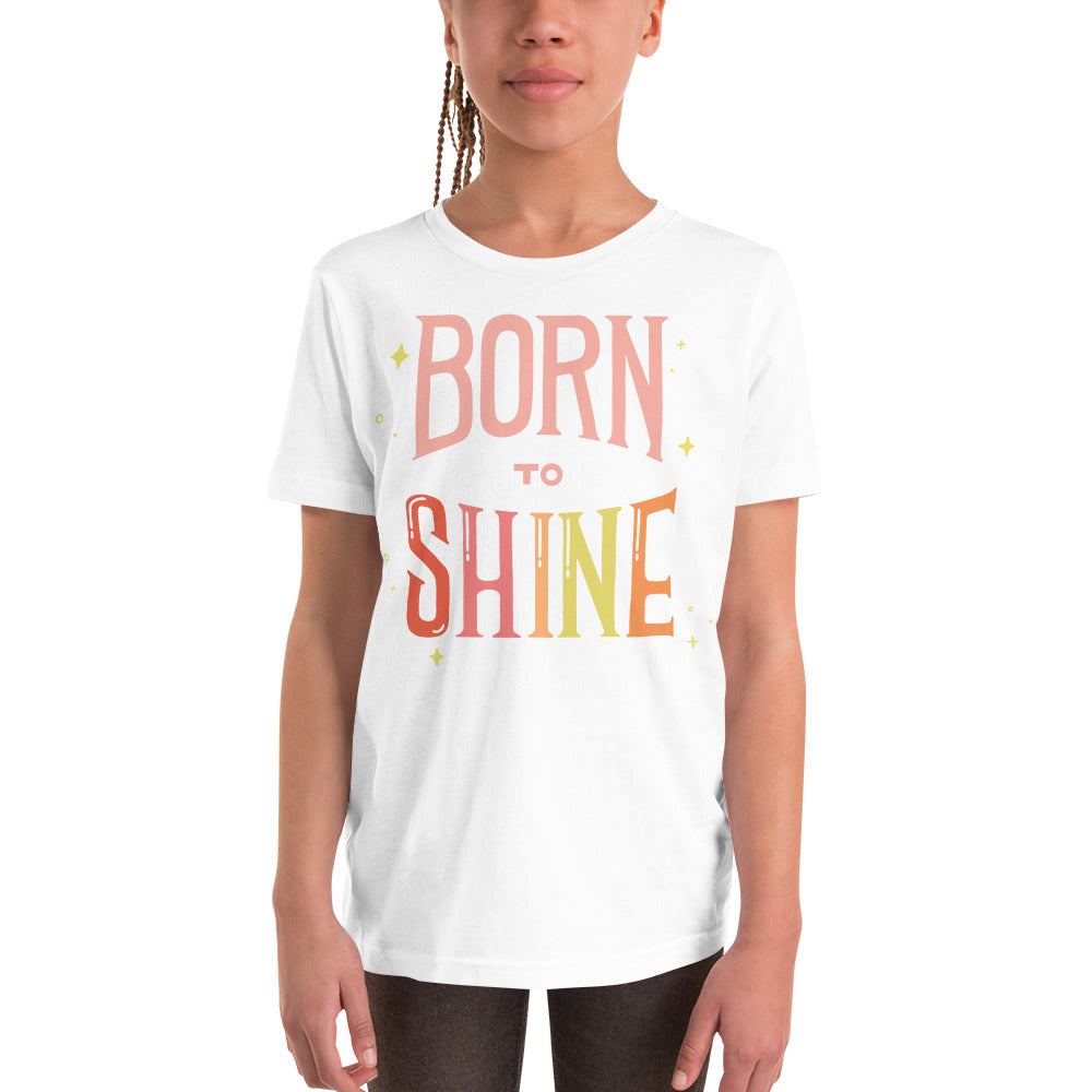 Born to Shine — Youth Tee