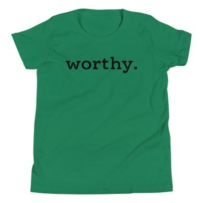 Worthy. — Youth Tee
