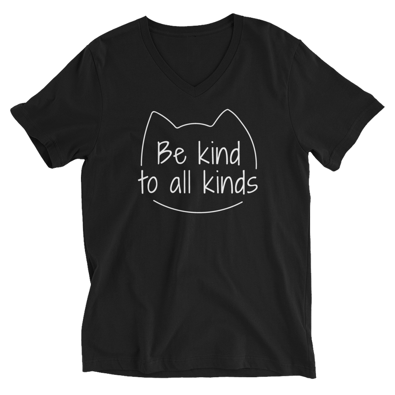 Be Kind To All Kinds — V-Neck