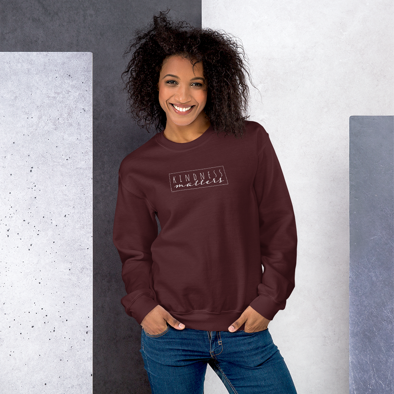Kindness Matters — Crew Neck Sweatshirt