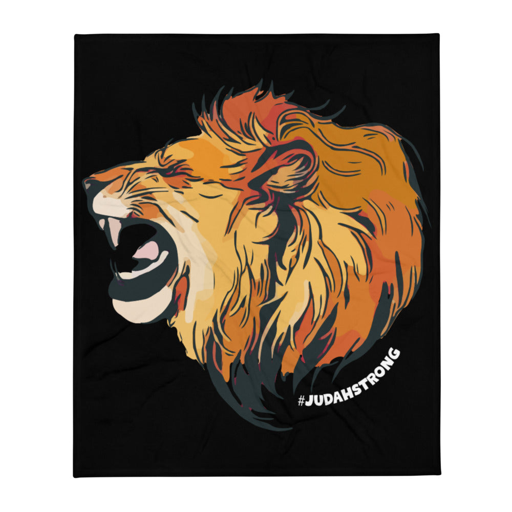 Judah Strong — Throw Blanket (Black)