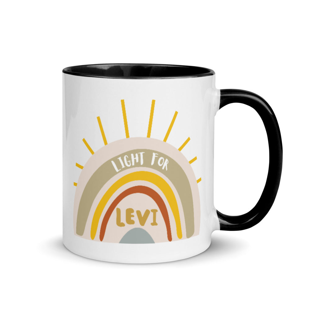 Light For Levi — 11oz Rainbow Mug
