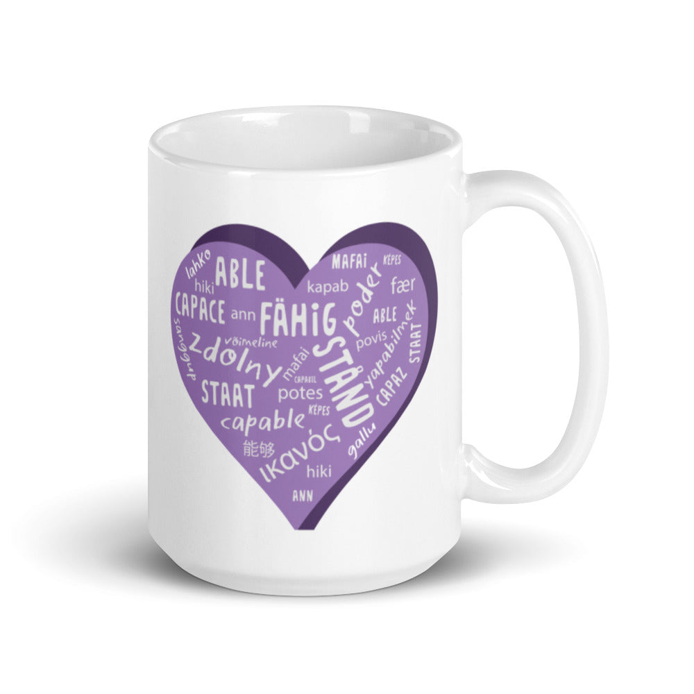 Able — 15oz Mug (Purple)