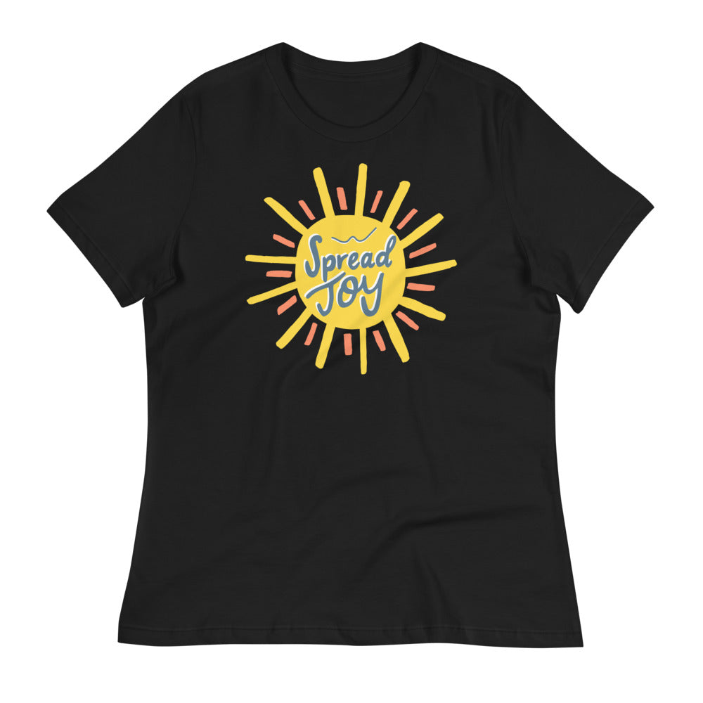 Spread Joy — Women's Relaxed Tee