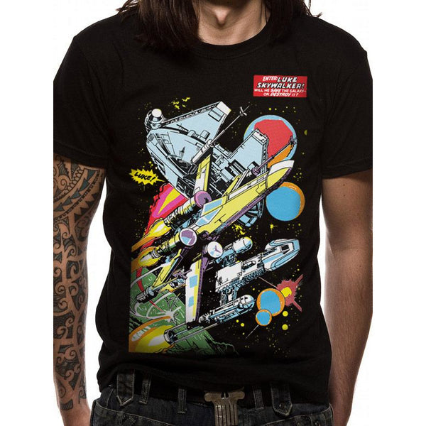 STAR WARS | COMIC SHIPS | UNISEX T-SHIRT