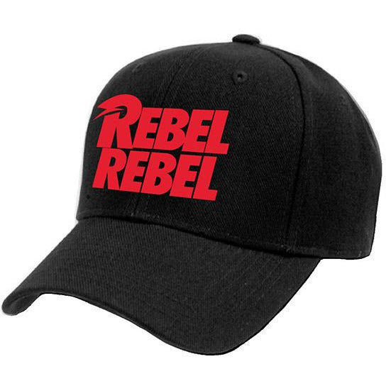 DAVID BOWIE | REBEL REBEL BASEBALL CAP | HEADWEAR