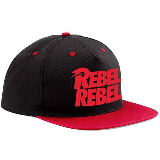 DAVID BOWIE | REBEL REBEL SNAPBACK | HEADWEAR