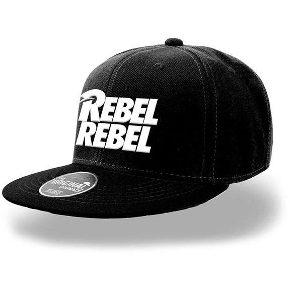 DAVID BOWIE | WHITE REBEL REBEL SNAPBACK | HEADWEAR