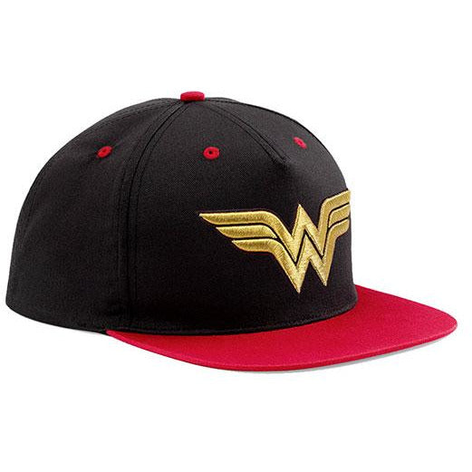 WONDER WOMAN | 3D GOLD LOGO SNAPBACK CAP | HEADWEAR