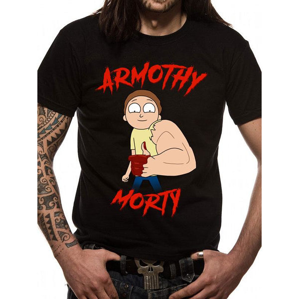 RICK AND MORTY | ARMOTHY MORTY | UNISEX T-SHIRT