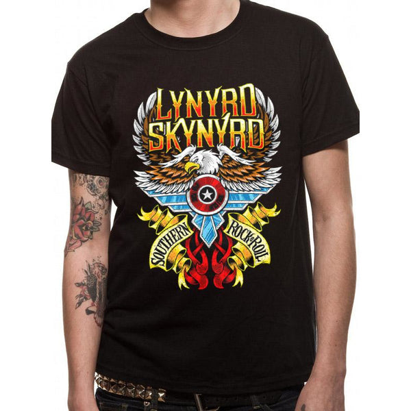 LYNYRD SKYNYRD | SOUTH N ROCK AND ROLL | UNISEX T-SHIRT