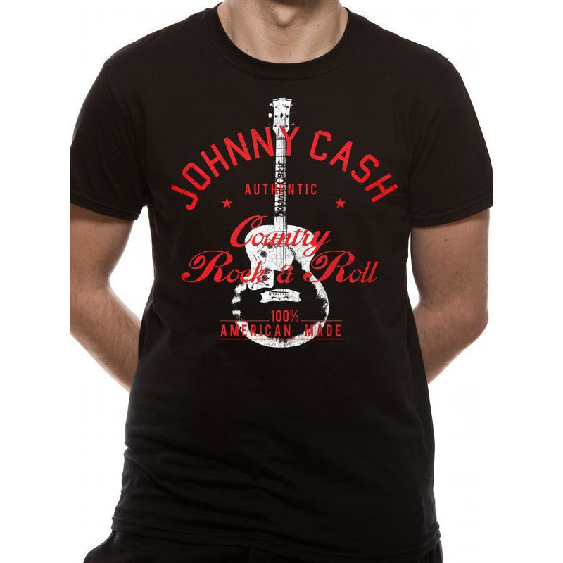 JOHNNY CASH | COUNTRY ROCK AND ROLL | UNISEX T-SHIRT