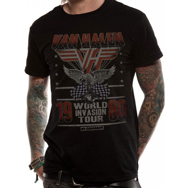 VAN HALEN | INVASION TOUR | UNISEX T-SHIRT