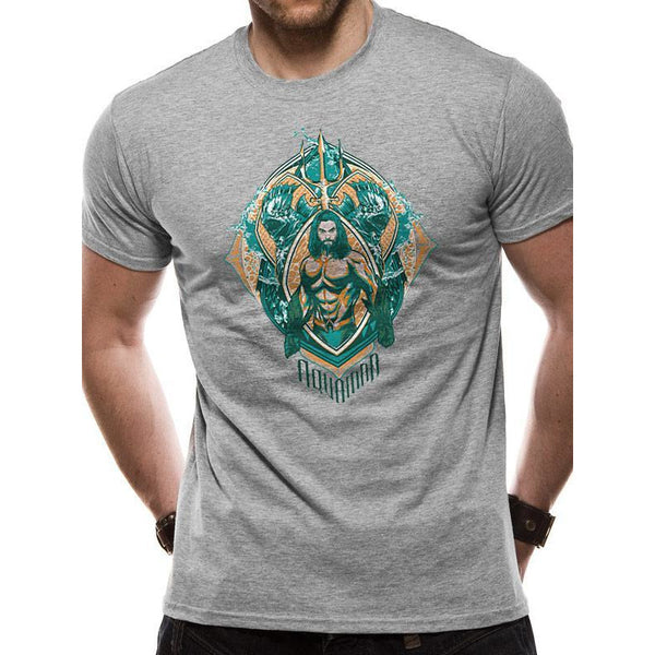 AQUAMAN MOVIE | CREST | UNISEX T-SHIRT