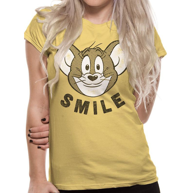 TOM AND JERRY | SMILE | UNISEX T-SHIRT