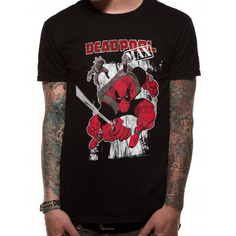 DEADPOOL | MAX ACTION | UNISEX T-SHIRT
