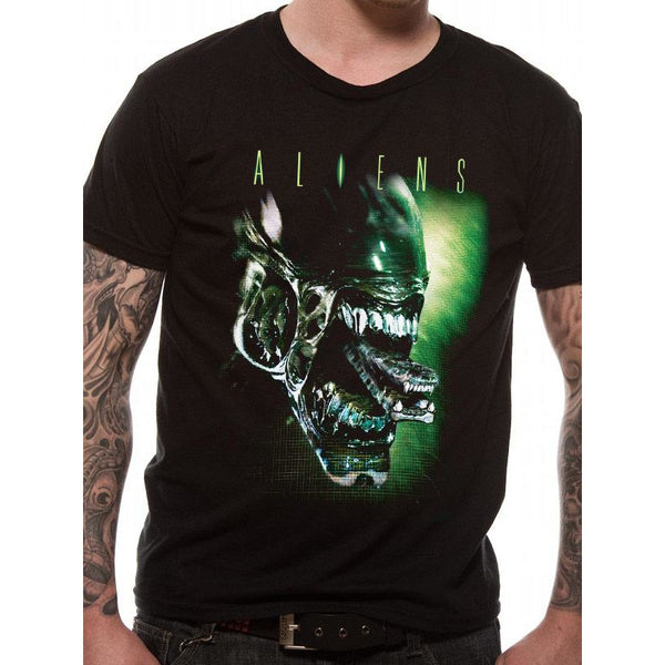 ALIENS | ALIEN HEAD | UNISEX T-SHIRT